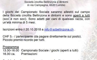 Campionato sociale (28.10.2018)