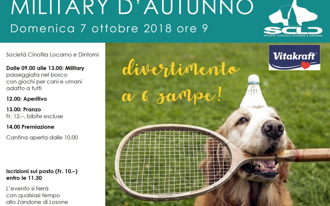 Military d'autunno (07.10.2018)