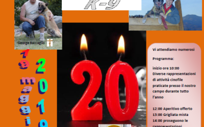 20° anniversario SDSK9