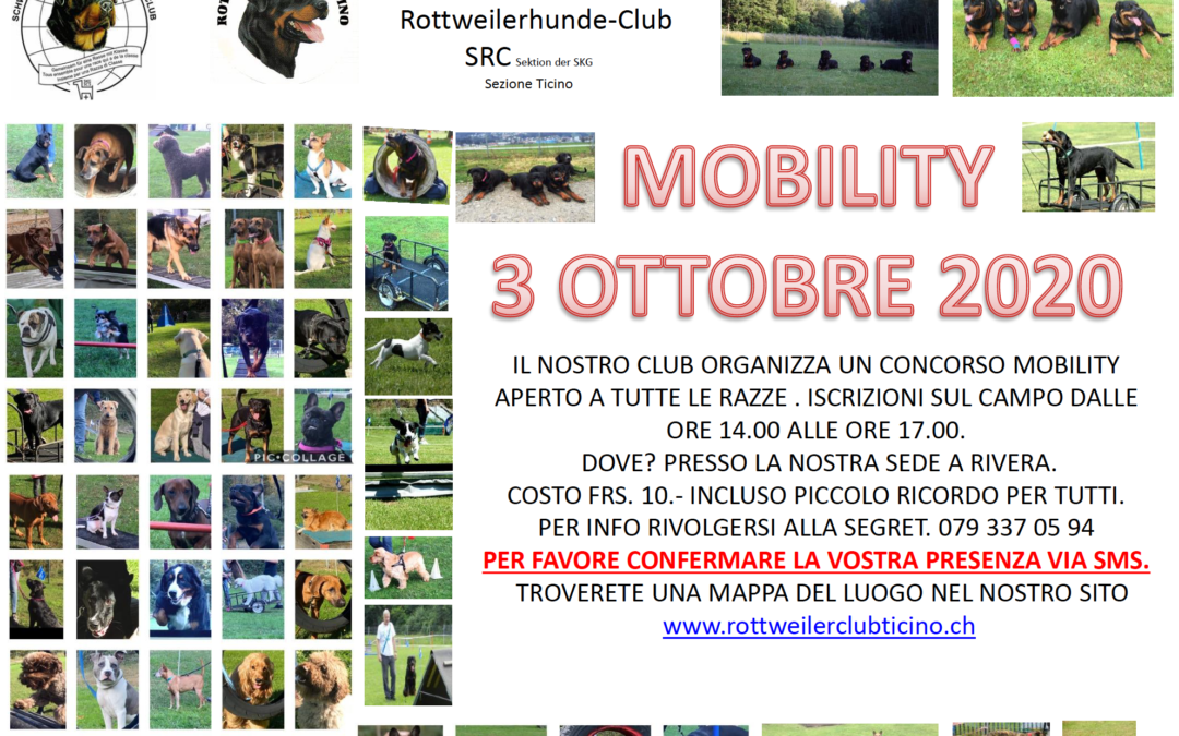 Mobility – 3 ottobre 2020